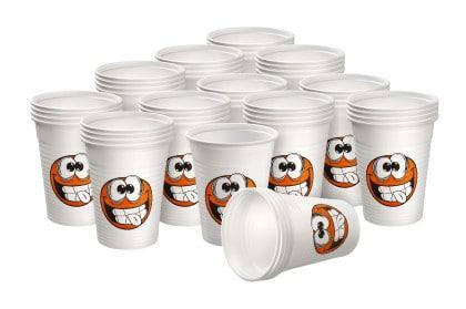 Akzenta Top Cups PP Patient Cups 180 ml Smily Series Arrangement