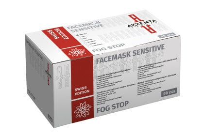 Facemask Sensitive | Fog Stop | Swiss Edition