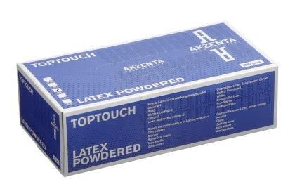 Top Touch Latex Powdered