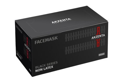 Facemask Black Series | Non Latex