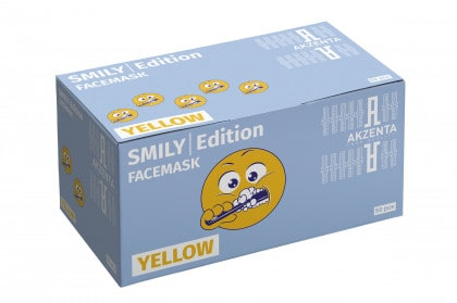 Smily Edition Yellow| Face Mask | Type IIR