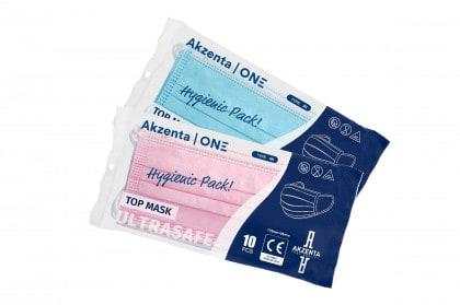 TOP MASK | ULTRASAFE TYPE IIR | 10 PCS Hygienic Pack